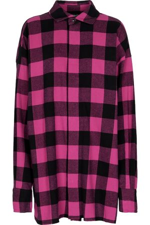 Palm Angels Checked flannel shirt