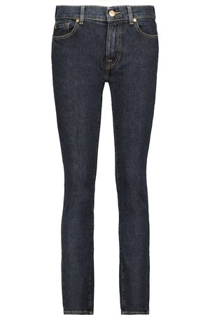 7 For All Mankind Roxanne high-rise slim jeans