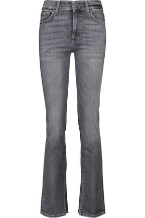7 for all Mankind The Straight mid-rise jeans