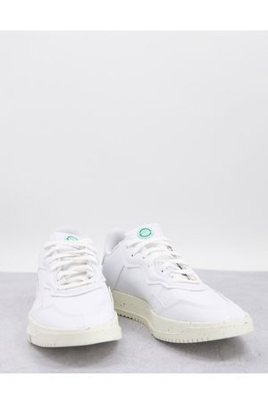 adidas SC Premiere trainers in white and green