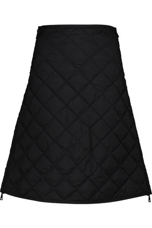 Moncler Quilted high-rise skirt