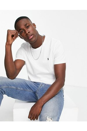 Polo Ralph Lauren Lounge t-shirt in white with logo