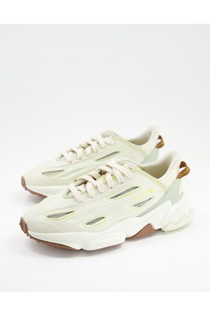 adidas Ozweego Celox trainers in earth tones-Neutral