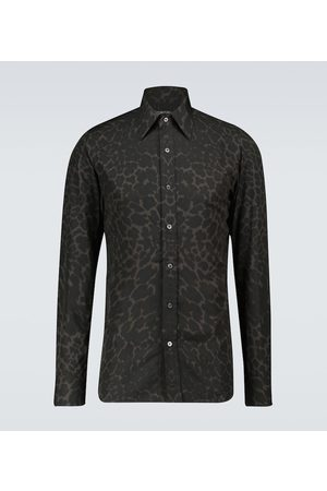 Tom Ford Exclusive to Mytheresa – Leopard printed shirt