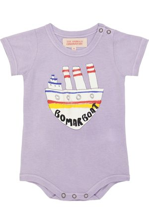 The Animals Observatory Baby short-sleeved cotton body