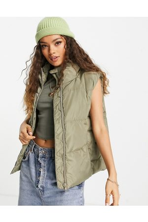 New Look Gilet in mid green