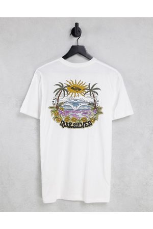 Quiksilver Hypnotic bliss t-shirt in white
