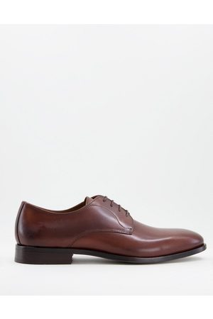HUGO BOSS Lisbon lace up shoes in brown